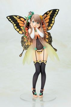 Tony's Heroine Collection Innocent Fairy Freesia anime figure by tony taka 000 Romantic Paintings, 3d Figures, Tokyo Otaku Mode, Anime Toys, Anime Figurines, Mode Shop, Held, Manga Girl, Illustration