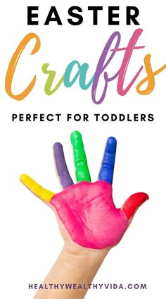Easter Crafts For Toddlers  easy crafts