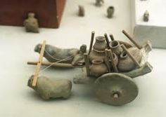 Many ancient terracotta toys were found from remains of Harappa. Such toys are still made in this area for children.