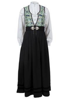 Sonja Festdrakt - sparkjøp Folk Costume, Costumes, Blouse, Long Sleeve, Sleeves, Tops, Women, Fashion, Moda