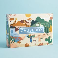 Check out the Fall CAUSEBOX review! And take advantage of their 30% off flash sale this weekend only! Toy Packaging, Food Packaging Design, Branding Design, Coffee Packaging, Bottle Packaging, Label Design, Creative Box, Creative Design, Creative Business