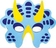 Eva Foam Various Dinosaur Mask Dino Masks Fancy Dress Party Loot Bags Party Bag Toys, Party Gift Bags, Dinosaur Party Supplies, Dinosaur Birthday Party, Dinosaur Mask, Lego Dinosaur, Festa Jurassic Park, Printable Animal Masks, Kids Zoo