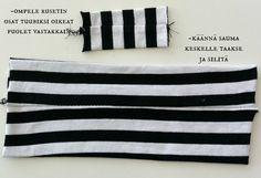DIY: Rusettipipo - Punatukka ja kaksi karhua Baby Hats, Sewing, Diy, Bags, Clothes, Handbags, Outfit, Dressmaking, Clothing