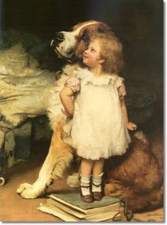 """I'se Biggest"" by Sir Arthur J. Elsey, circa 1900"