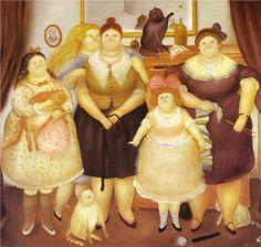 The Sisters | 1969 | Fernando Botero