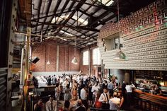 unbelievable venue. in my dreams. brewery warehouse.