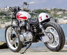 Kawasaki KZ440 Street Tracker by Choppershack for Princess Sandi #motorcycles #streettracker #motos | caferacerpasion.com