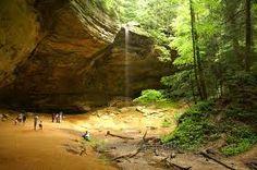 Ash Cave-Hocking Hills area ohio