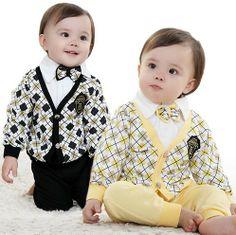 2013 new 3pcs baby clothing set fashion gentleman boys suit autumn -summer coat shirt pants kids spring clothes infant outfits