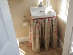 Sink Skirt Design Ideas, Pictures, Remodel And Decor