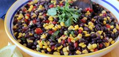 Easy Sweet Corn & Black Bean Salad/7 smart points per serving, couldn't tell how many servings!