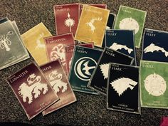 cadillacsnliqourbottles:  My Game of Thrones door decs for Nov/Dec! ***winter is coming yall***