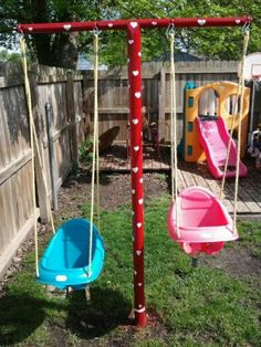 great swing for the baby outside for modern home ideas