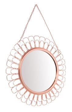 Copper Wire Mirror from Primark Depends what size it is though - would need to be big enough for a vanity mirror.