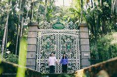 fotografia de casamento Carol e William ensaio no jardim botânico cerimônia na Paroquia São Francisco de Assis recepção no espaço Hakka