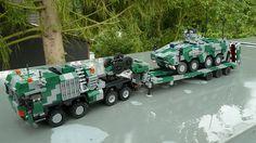 Lego military - a gallery on Flickr Lego Cars, Lego Truck, Lego Technic, Armas Wallpaper, Technique Lego, Construction Lego, Lego Police, Lego Builder, Lego Mechs