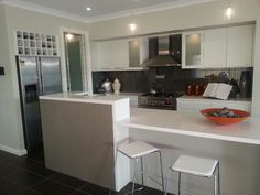 Kitchen with Butlers pantry