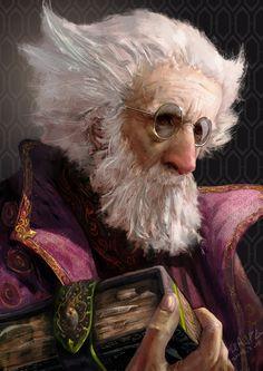 """Tellah with Spellbook"" , Final Fantasy IV by zerochan"