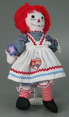 110.9544: Raggedy Ann Doll | doll | Raggedy Ann and Andy™ | Toys Alphabetically | National Toy Hall of Fame Online Collections | The Strong