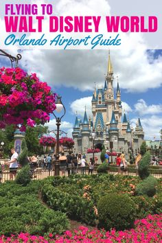 Flying to Orlando to meet Mickey Mouse? Here's everything you need to know about air travel to Walt Disney World - MCO airport guide, Magical Express ground transportation, and more. Walt Disney World Orlando, Walt Disney World Vacations, Disney World Resorts, Disney Travel, Orlando Disneyworld, Disney Parks, Disneyland Vacation, Disney Bound, Universal Orlando