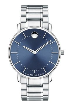 Movado Round Bracelet Watch, 40mm available at #Nordstrom