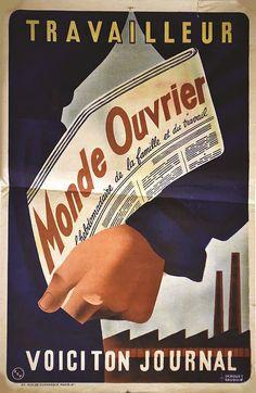 Monde Ouvrier - 1930's -