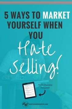 Are you struggling with how to market yourself or your business? Do you hate sounding salesy and fake? Use these five tips to market yourself Small Business Marketing, Email Marketing, Social Media Marketing, Content Marketing, Creative Business, Business Tips, Online Business, How To Start A Blog, How To Make Money