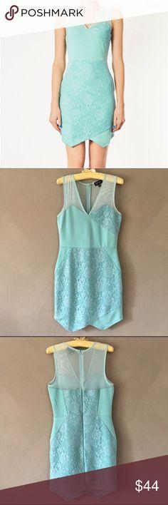 💫 Like new! TopShop Sleeveless Mini Like new! TopShop sleeveless mint colored mini dress in an excellent/1-time worn condition TTS 6. Topshop Dresses Mini