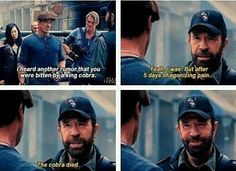 This one time Chuck Norris made a Chuck Norris joke.