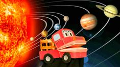 El Sistema Solar para Niños - Barney El Camion - Videos Educativos Infan... Spanish Songs, Spanish Language, Kids Videos, Solar System, Science And Technology, Make It Yourself, Youtube, Class Room, Dragon