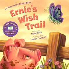 Ernie's Wish Trail Children's Book #sponsored review on TwoClassyChics blog