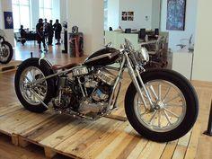 Bobber Inspiration | Harley-Davidson Panhead bobber | Bobbers and Custom Motorcycles