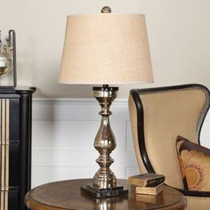 Uttermost Cervinara Mercury Glass Table Lamp