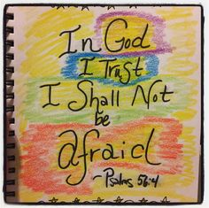 "Trust not fear. I hate change and it's coming in 2017. Just enough to ""shake"" my comfort zone a wee bit. So my prayers this weekend can be summed up in this verse. In God I trust. #lifeofaneditor #seize #trust #nofear #prayingincolor"