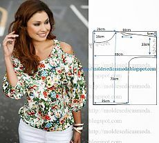 Amazing Sewing Patterns Clone Your Clothes Ideas. Enchanting Sewing Patterns Clone Your Clothes Ideas. Blouse Patterns, Clothing Patterns, Fashion Sewing, Diy Fashion, Latest Fashion, Fashion Trends, Sewing Patterns Free, Sewing Tutorials, Easy Patterns