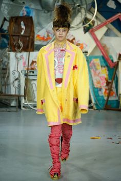 Meadham Kirchhoff Spring 2015 Ready-to-Wear Collection Photos - Vogue