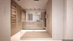 These gorgeous minimalist interiors – both by Oporski Architektura – demonstrate that high contrast themes are just as good at looking soft and casual as th