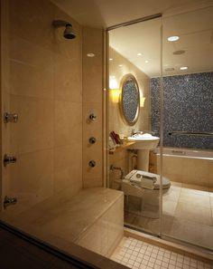 Bathroom at Hotel Okura, Tokyo, Minato-ku, Tokyo, Tokyo-to, Japan