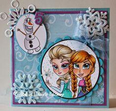 E Creations: Simply Betty - Elsa and Anna