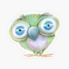 Cool Stickers, Funny Stickers, School Accessories, Gifts For Teens, Big Eyes, School Bags, Back To School, Birthday Cards, Stationery