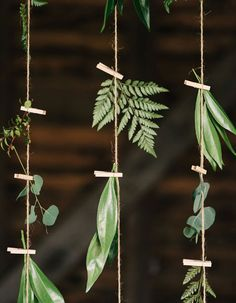 This all-natural hanging floral arrangement is perfect for any big day!