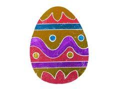 Easter Foil Egg