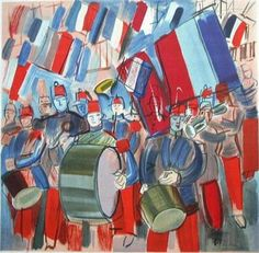 14 july Raoul Dufy Raoul Dufy, John William Godward, An American In Paris, Academic Art, Georges Braque, Billie Holiday, Fauvism, Manet, Kandinsky