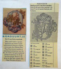 Digitale Bibliotheek: 1Apr17 Embroidery pattern/ Borduur patroon alfabet...