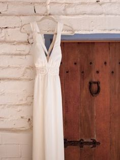 Rustic elegance. Wedding dress. Michelle and Damien, photography and film 888.301.6919