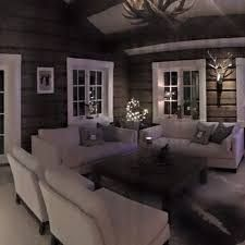 Wooden House, Cabins In The Woods, Couch, Room, Images, Furniture, Design, Home Decor, Search