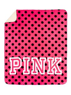 Soft Sherpa Blanket - PINK - Victoria's Secret-pink or leopard