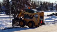 Snow Removal Edmonton: Bobcat operator having difficulty with traffic the other day. Snow Removal Edmonton | +1.780.800.4945 | www.snowremovalcanada.com   Athabasca, Cold Lake, Drayton Valley, Edson, Fairview, Fort McMurray, Fort Saskatchewan, Grande Prairie, High Prairie, Hinton, Lac La Biche, Leduc, Mayerthorpe, Morinville, Peace River, Sherwood Park, St. Albert, Slave Lake, Smoky Lake, Spruce Grove, Stony Plain, Valley View, Westlock, and points between.  Topics: Snow Removal Edmonton…