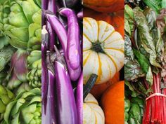 Great chart on what produce is in season during which months Seasonality Chart: Vegetables | CUESA