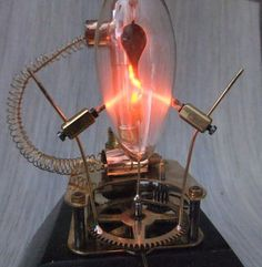 Plasma Bulb With Clock Gear : 6 Steps (with Pictures) - Instructables